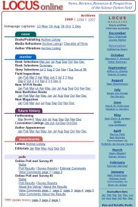 1999 Archive Page